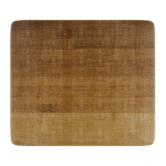 Planche À Découper Copie en bambou sur le conseil de taille du verre
