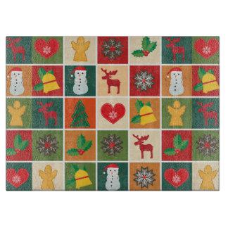 Planche À Découper Décor de Noël