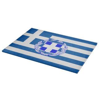 Planche À Découper Drapeau de la Grèce