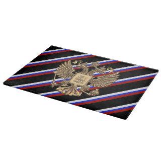 Planche À Découper Drapeau russe de rayures