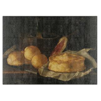 Planche À Découper Du baroque toujours la vie vintage avec du pain,