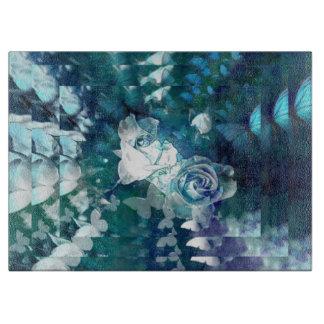 Planche À Découper Écho de rose de bleu