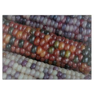 Planche À Découper Épi de maïs en verre coloré de gemme