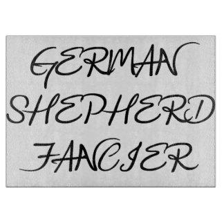 Planche À Découper fancier de berger allemand