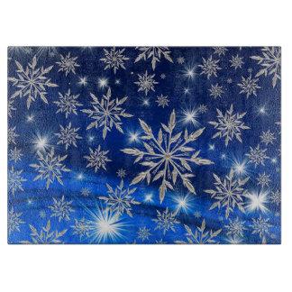 Planche À Découper Flocons de neige