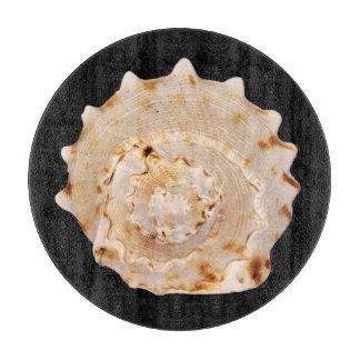 Planche À Découper Hachoir en verre de Shell de conque