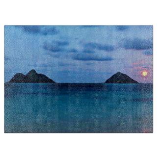 Planche à découper hawaïenne de cuisine d'île de