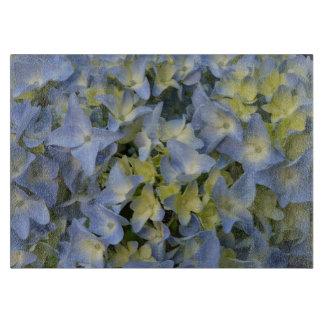 Planche À Découper hortensias bleus