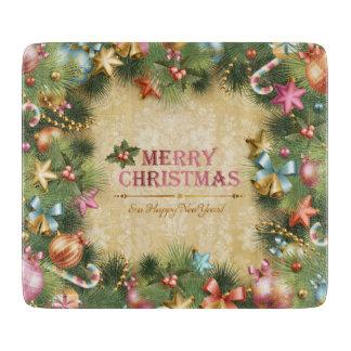 Planche À Découper Joyeux Noël 74 conseils de taille du verre