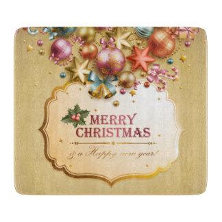 Planche À Découper Joyeux Noël 83 conseils de taille du verre