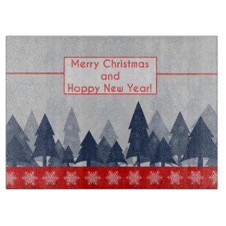 Planche À Découper Joyeux Noël et bonne année