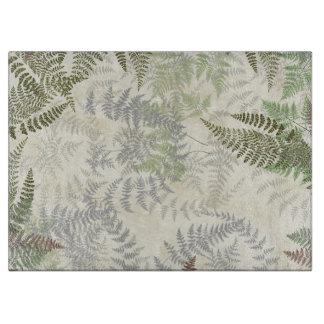 Planche À Découper La fougère vintage botanique part de la planche à