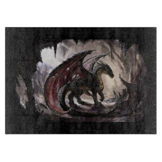 Planche À Découper La tanière du dragon découpant le conseil