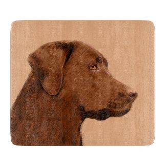 Planche À Découper Labrador retriever (chocolat)