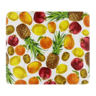 Planche À Découper L'aquarelle colorée porte des fruits conseil de