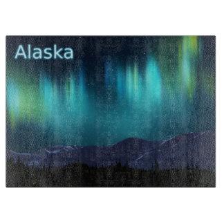 Planche À Découper L'aurore Borealis - Alaska