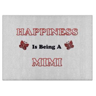 Planche À Découper Le bonheur est A Mimi