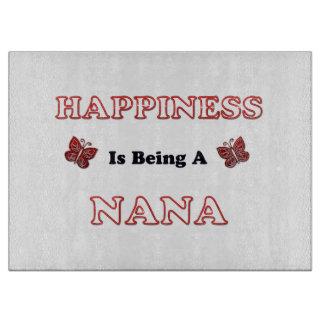 Planche À Découper Le bonheur est Nana