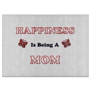 Planche À Découper Le bonheur est une maman