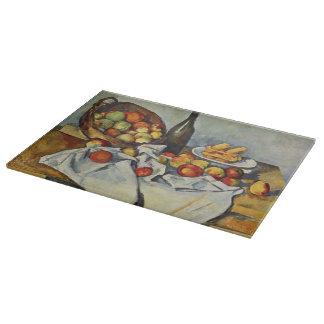 Planche À Découper Le panier des pommes par Paul Cezanne