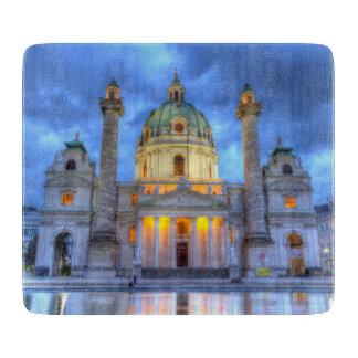 Planche À Découper L'église de Charles de saint à Vienne, Autriche
