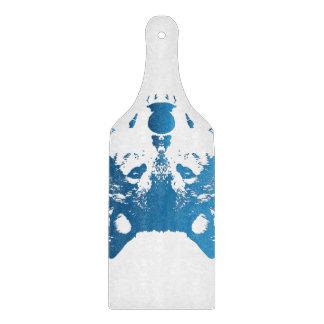 Planche À Découper Loup de bleu glacier d'illustration