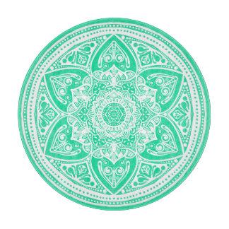 Planche À Découper Mandala de menthe