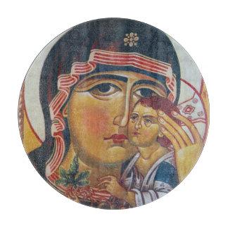 Planche À Découper Mère Mary et art de Jésus