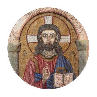 Planche À Découper Mosaïque antique de Jésus