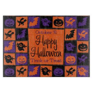 Planche À Découper Mosaïque de Halloween