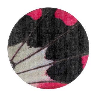 Planche À Découper Motif d'aile de détail de papillon tropical