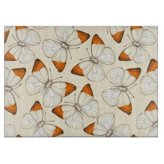 Planche À Découper Motif d'aquarelle de papillons