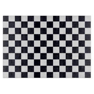 Planche À Découper Motif noir et blanc de contrôleur