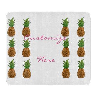 Planche À Découper motif Thunder_Cove d'ananas