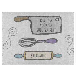 Planche À Découper Outils de cuisine personnalisés par amusement