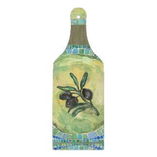 """Planche À Découper Palette en verre décorative de hachoir de """"olives"""""""