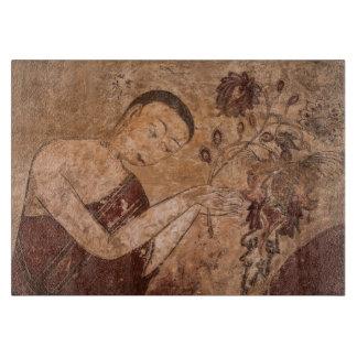 Planche À Découper Peinture bouddhiste antique