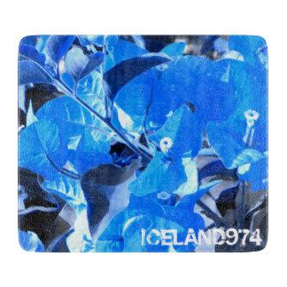 Planche À Découper Planche à découper-verre déco-ICELAND974