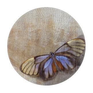 Planche À Découper plume égyptienne d'oie de papillon de Verre-aile