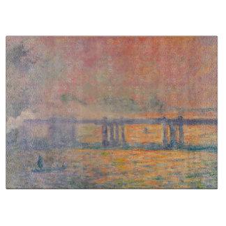 Planche À Découper Pont croisé de Claude Monet Charing