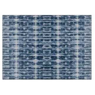Planche À Découper Rayure de Shibori d'aquarelle de rayon X