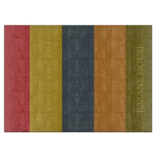 Planche À Découper Rayures vintages de palette personnalisées