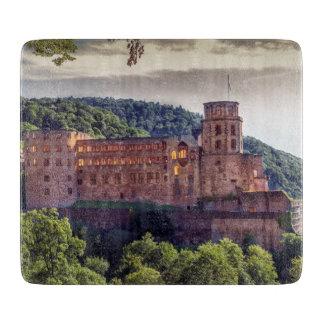 Planche À Découper Ruines célèbres de château, Heidelberg, Allemagne