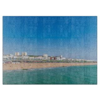 Planche À Découper Verre de plage de Brighton