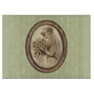 Planche À Découper Vert antique de jeune mariée