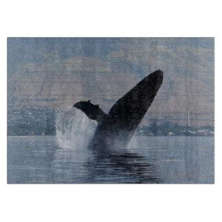 Planche À Découper violation de baleine de bosse