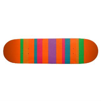 Planche À Roulette Rayures multi de couleur
