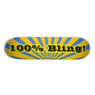 Planche à roulettes 100 de Bling