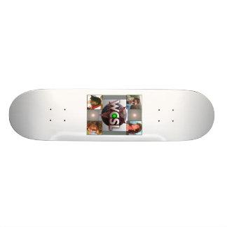 Planche à roulettes 2010 de logo de fonctionnaire skateboards customisés