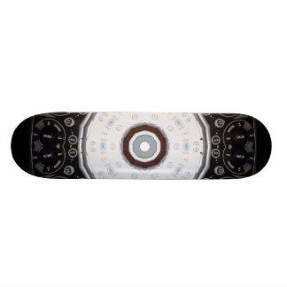 Planche à roulettes à télécommande de kaléidoscope skateboard old school 18,1 cm